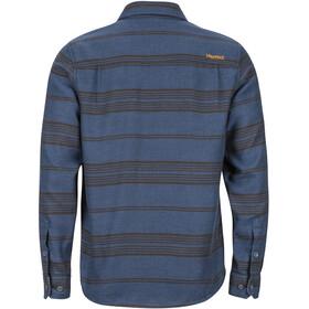 Marmot Fairfax Midweight Flannel LS Shirt Men, dark indigo